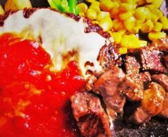 コレステロール肉・ハンバーグ